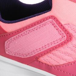 Hardloopschoenen voor meisjes Eliofeet fluoroze - 1025896