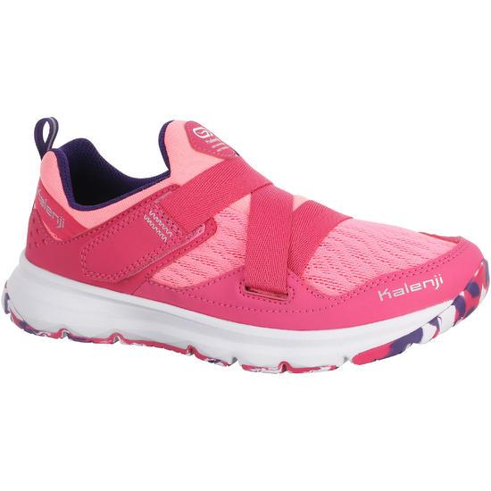 Hardloopschoenen voor meisjes Eliofeet fluoroze - 1025897