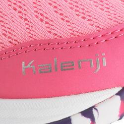 Hardloopschoenen voor meisjes Eliofeet fluoroze - 1025898