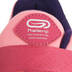 Hardloopschoenen voor meisjes Eliofeet fluoroze - 1025900