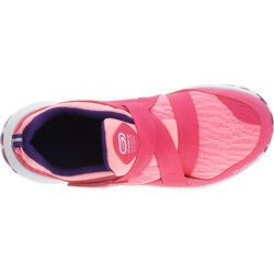 Hardloopschoenen voor meisjes Eliofeet fluoroze - 1025901