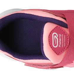 Hardloopschoenen voor meisjes Eliofeet fluoroze - 1025903