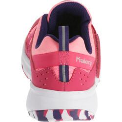 Hardloopschoenen voor meisjes Eliofeet fluoroze - 1025904