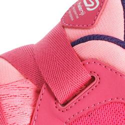Hardloopschoenen voor meisjes Eliofeet fluoroze - 1025906