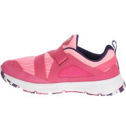 Hardloopschoenen voor meisjes Eliofeet fluoroze - 1025907