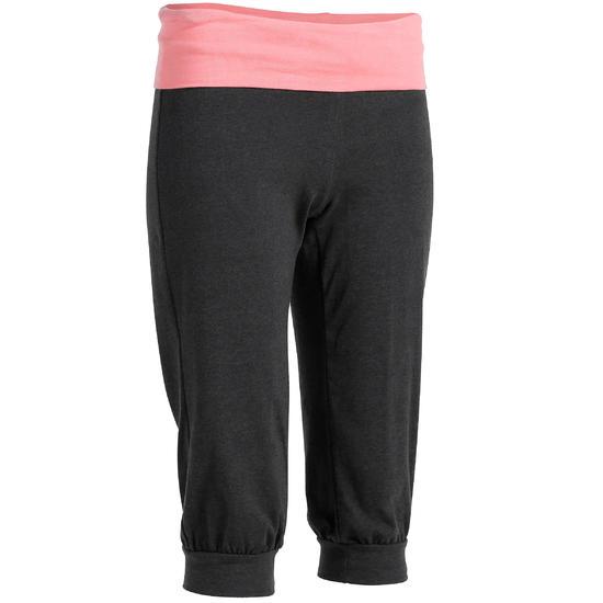 Yoga kuitbroek in biokatoen voor dames - 1025949