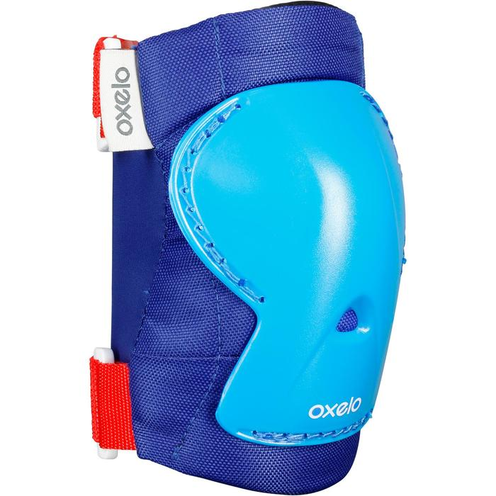 Play Children's 3-Piece Protective Gear for Skates/Skateboard/Scooter - Blue - 1026331