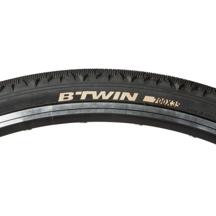 Fahrradreifen Drahtreifen Trekking 1 Speed 700x35 (35-622)