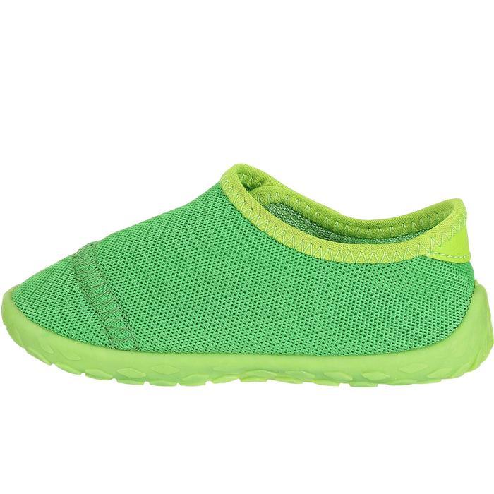 d3b0a5a93a97d Subea Chaussures aquatiques Aquashoes 100 bébé vertes | Decathlon