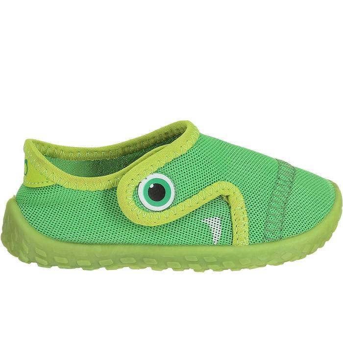 Zapatillas acuáticas Aquashoes 100 bebé verde