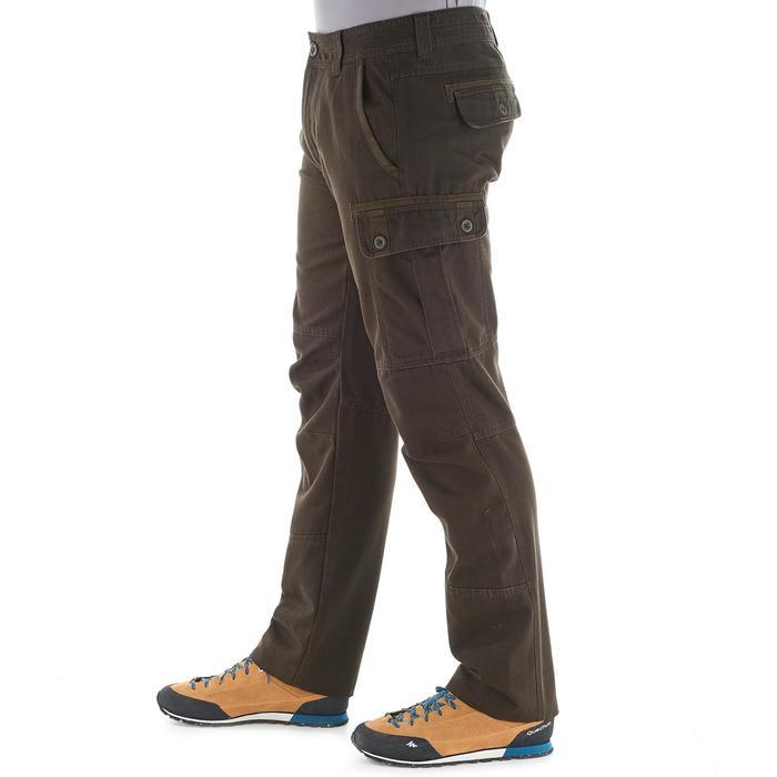 Pantalon TRAVEL 100 WARM homme marron