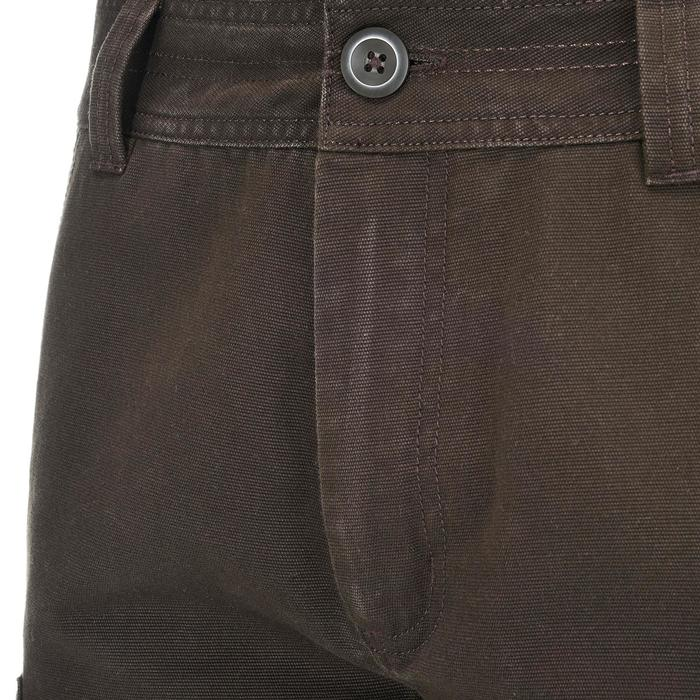 Hose Travel 100 Warm Herren braun