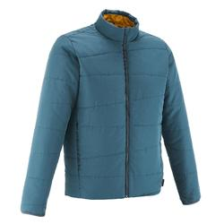 NH100 Men's Hiking Padded Jacket - Blue Grey