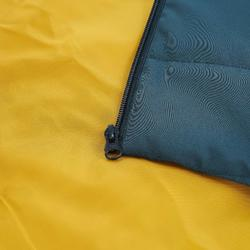 男款健行保暖外套NH100-藍灰色