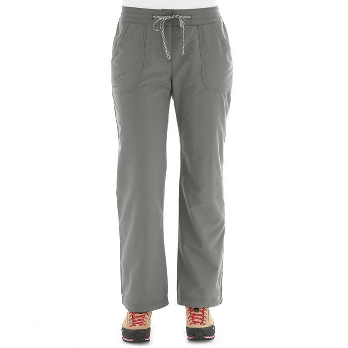 Pantalon Arpenaz 100 warm Lady - 1026839