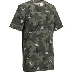 Kinder T-shirt Steppe 100 camouflage Island