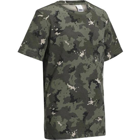Kinder T-shirt Steppe 100 camouflage Island - 1026879
