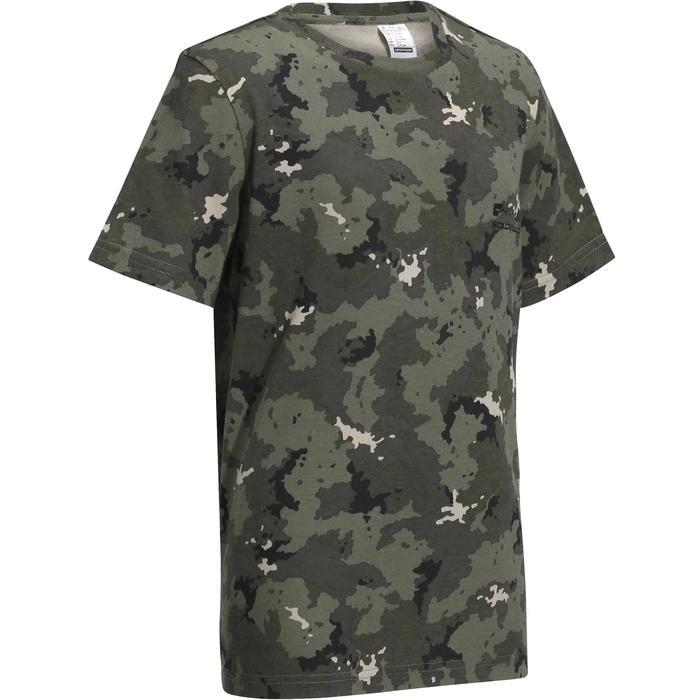 Jagd-T-Shirt 100 Kinder Camouflage Island