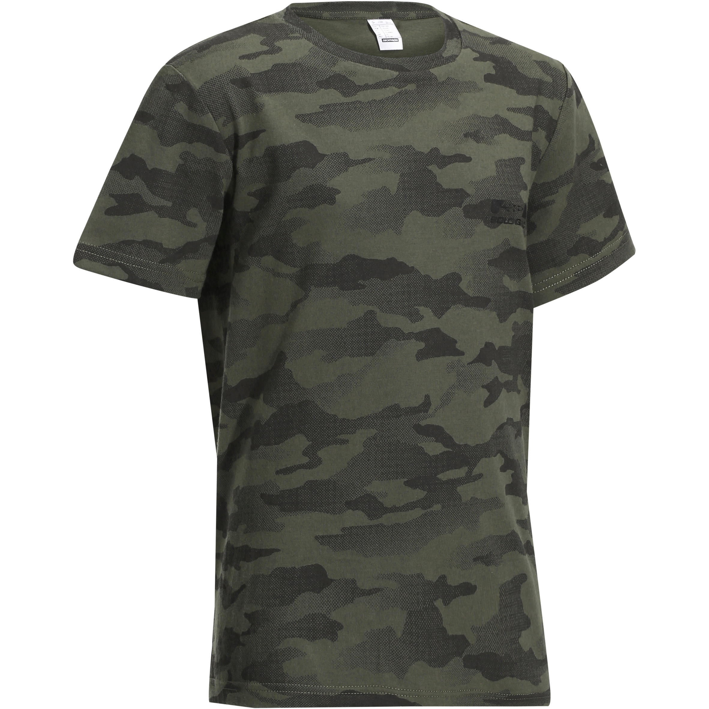 Solognac Kinder T-shirt 100 voor de jacht Island