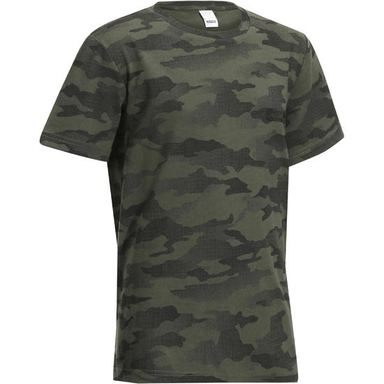 Kinder T-shirt Steppe 100 camouflage Island - 1026880