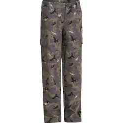 Pantalón caza junior camuflaje