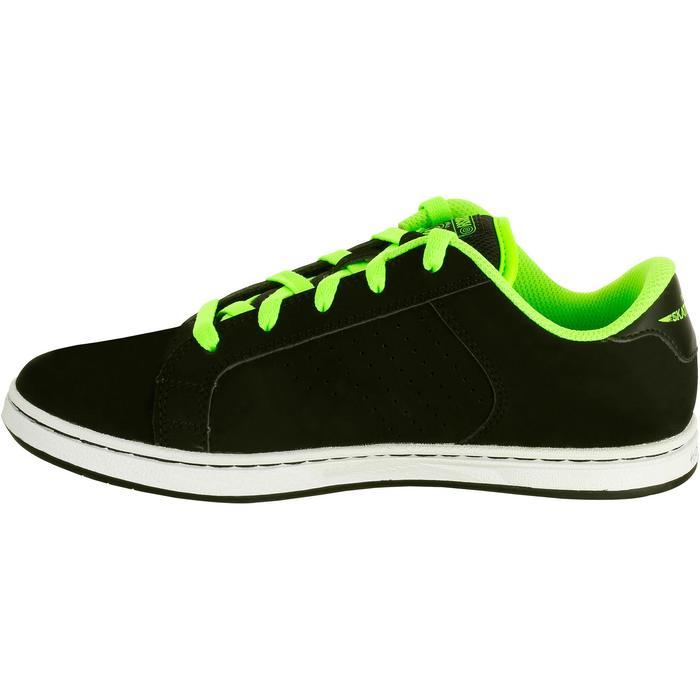 Chaussure de skate enfant CRUSH BEGINNER noire verte - 1026942