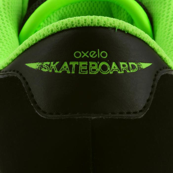 Chaussure de skate enfant CRUSH BEGINNER noire verte - 1026947