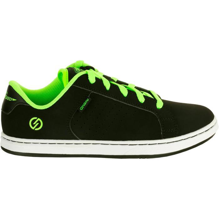 Chaussure de skate enfant CRUSH BEGINNER noire verte - 1026987