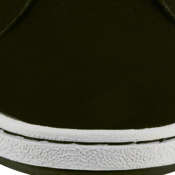 Chaussure de skate enfant CRUSH BEGINNER noire verte - 1027021