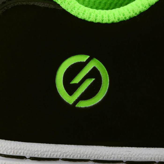 Chaussure de skate enfant CRUSH BEGINNER noire verte - 1027022