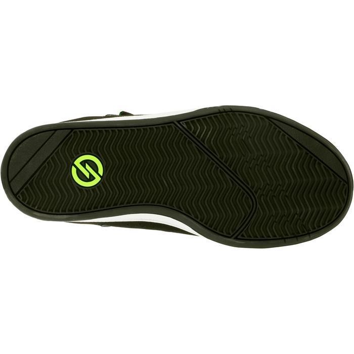 Chaussure de skate enfant CRUSH BEGINNER noire verte - 1027029