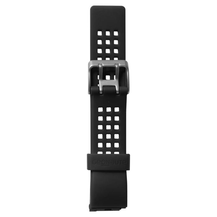 Horlogebandje Strap M Swip X zwart