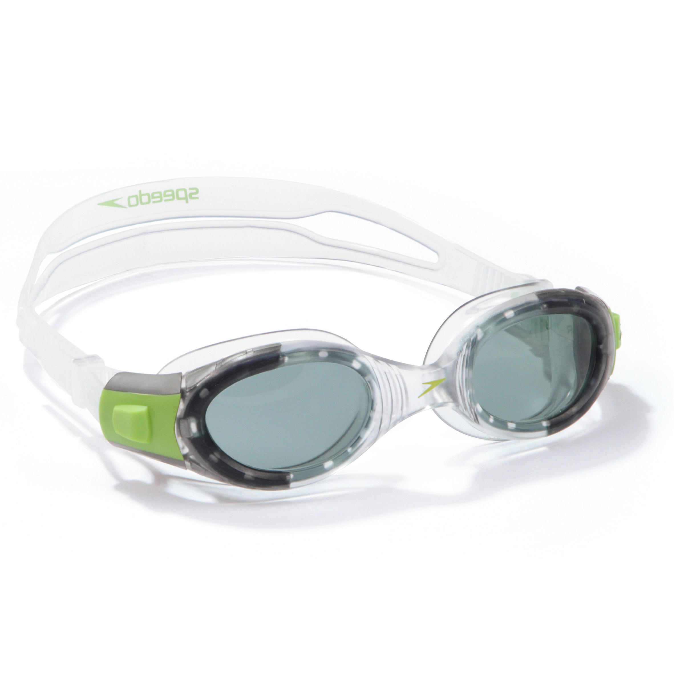 Speedo Junior Futura Biofuse Green-Clear