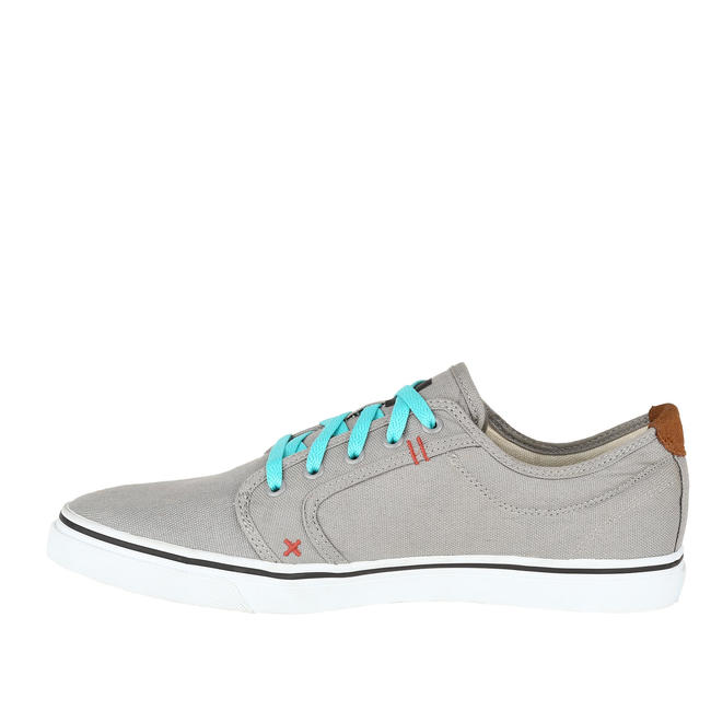 SKATEBOARDING CANVAS SHOES PLAY GREY