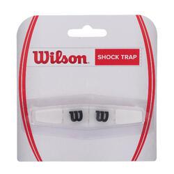 Vibrationsdämpfer Shock Trap Tennisschläger weiß
