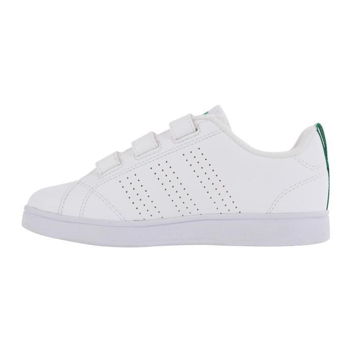 Tennisschuhe Neo Advantage Clean Kinder weiß/grün