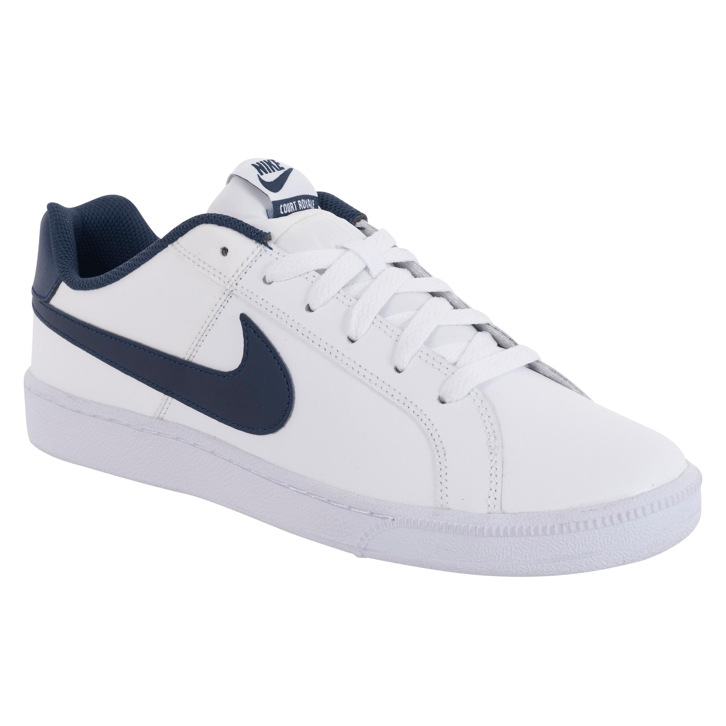 nike court royale blanche