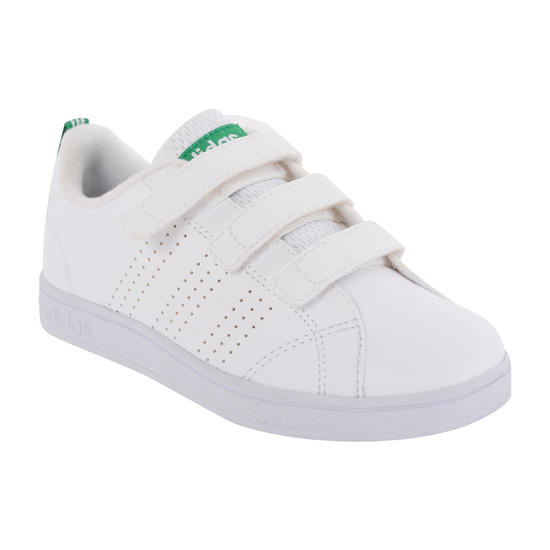 Sportschoenen kinderen Neo Advantage Clean klittenband wit/groen - 1027726