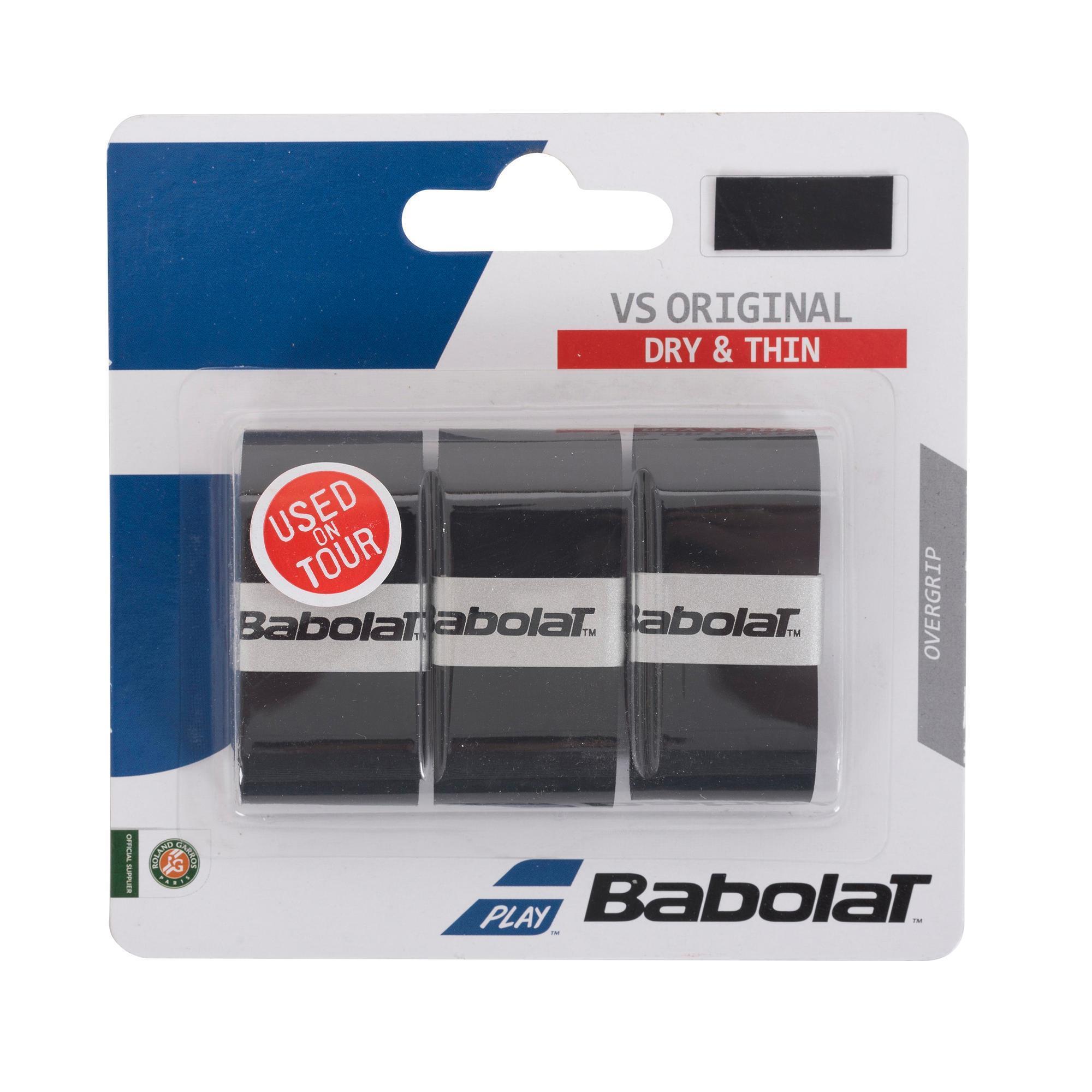 Babolat Tennisgrip overgrip VS Original zwart kopen