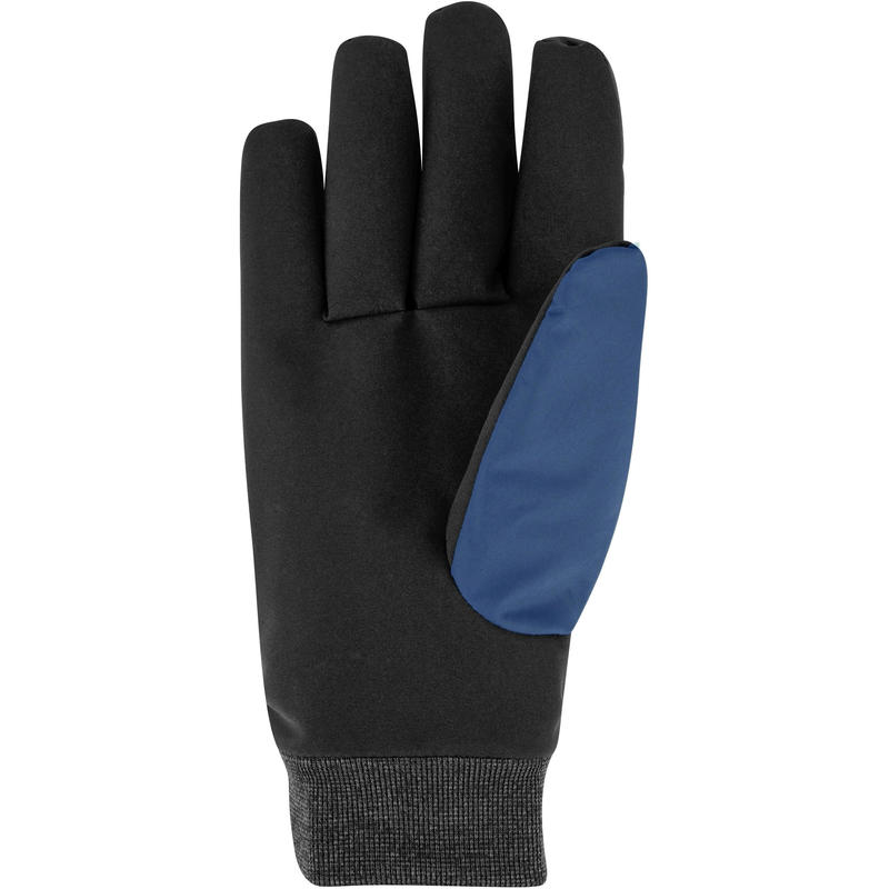 ADULT DOWNHILL SKIING GLOVES WARM FIT - BLUE