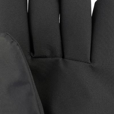כפפות יוניסקס חמות לסקי - צבע שחור