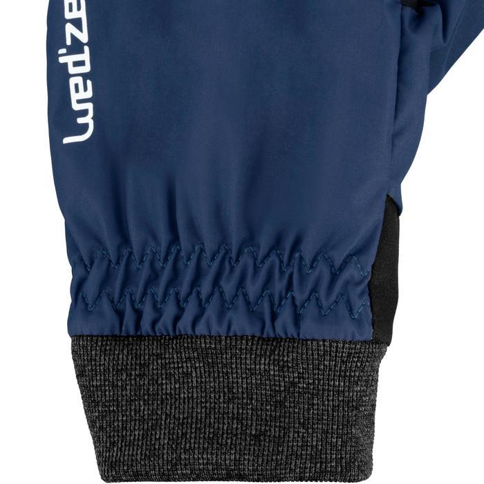 Pistehandschoenen voor volwassenen warm fit blauw