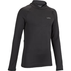 Freshwarm Children's Ski Base-Layer Top - Black