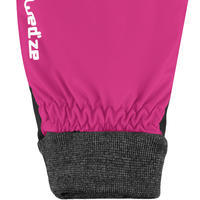 ADULT DOWNHILL SKIING GLOVES WARM FIT - PINK
