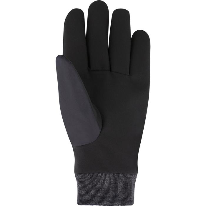 GANTS DE SKI DE PISTE ADULTE WARM FIT NOIRS