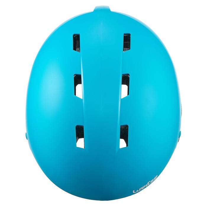 Skihelm H 100 Kinder blau