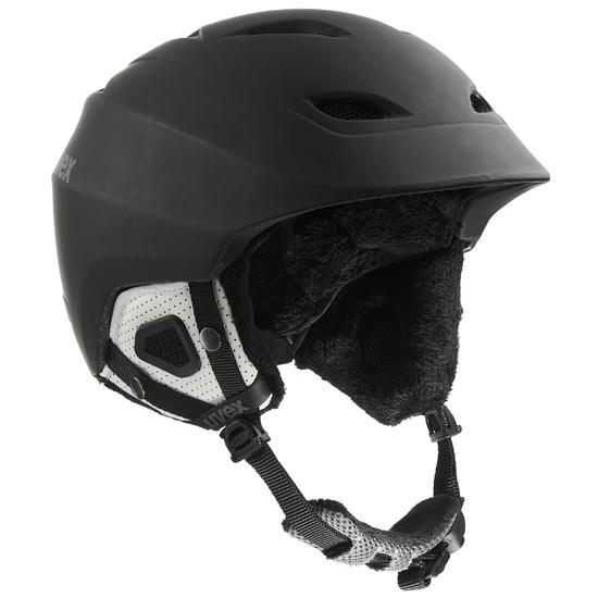 Ski- en snowboard helm volwassenen SAGA ZWART - 1029046