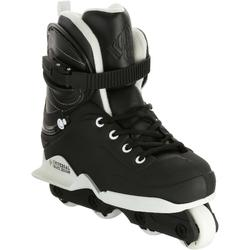 Patines Patinaje Freeride Skate Agresivo Powerslide Realm Team US Negro/Blanco