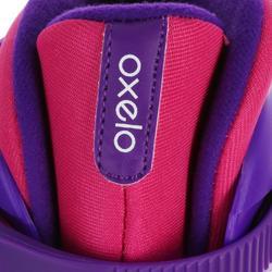 兒童款直排輪鞋Play 3 - 粉紅配紫色