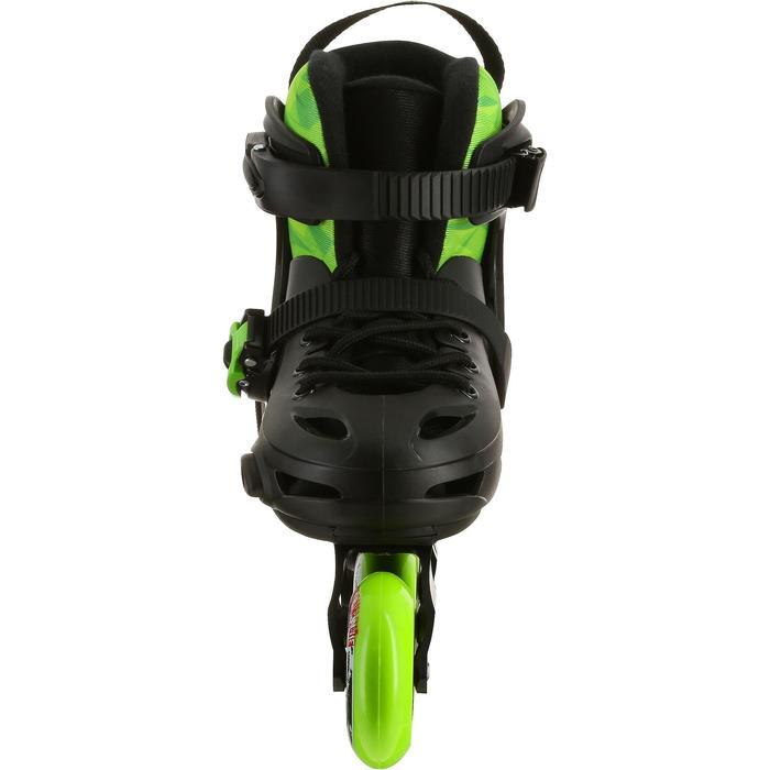 Roller junior freeride KHAAN JUNIOR POWERSLIDE noir vert - 1029181